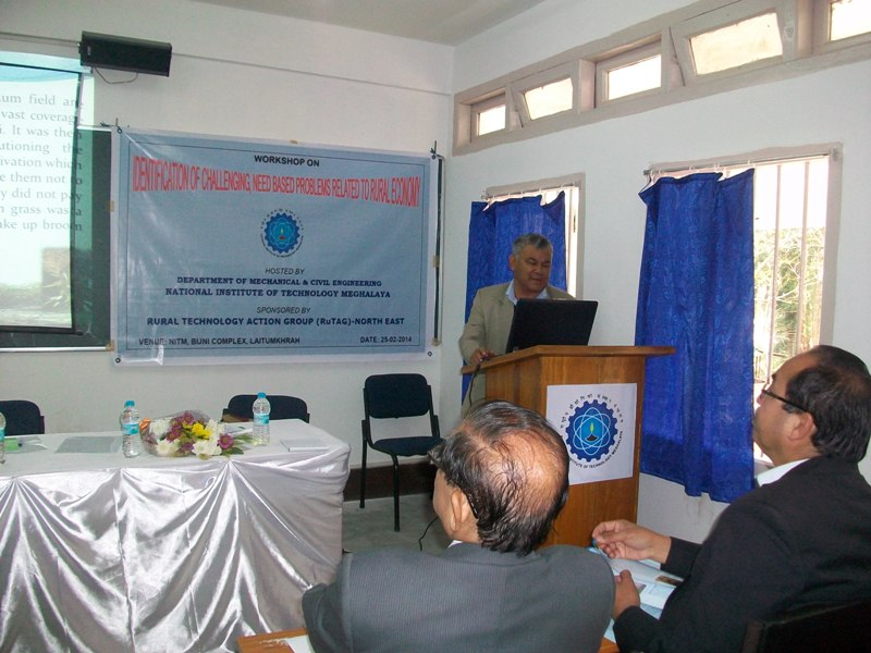 Identification of Challenging, need based problems related to rural Economy(Civil & Mechnical Dept)